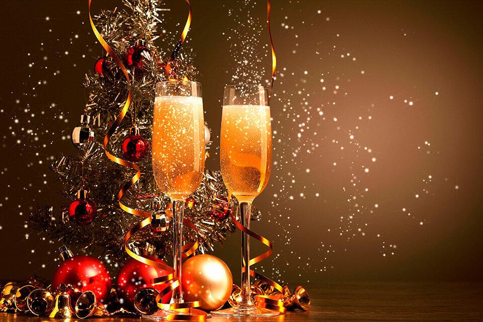 Новый год в ресторане Москвы